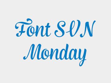 Font Chữ SVN Monday Việt Hóa Free Download