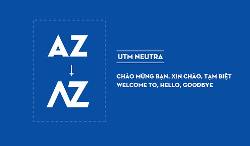 Download Font UTM Neutra Việt Hóa Free