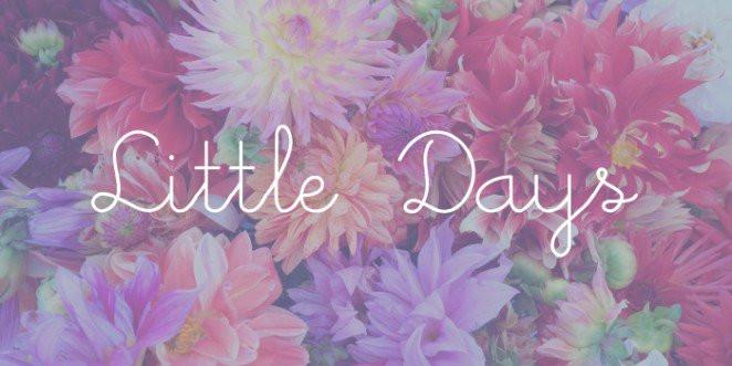 Font Little Days