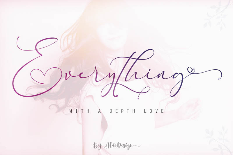 Font Everything Calligraphy