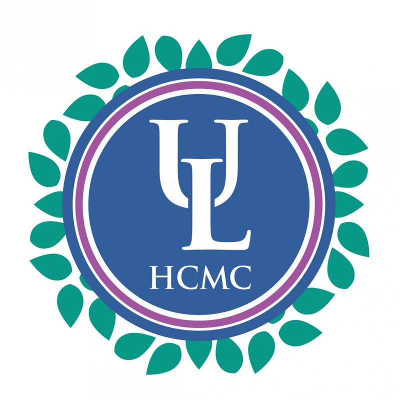 Logo Trường Đại học Luật Thành phố Hồ Chí Minh