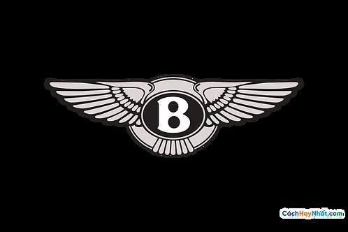 Logo Bentley 3D Vector PDF PNG