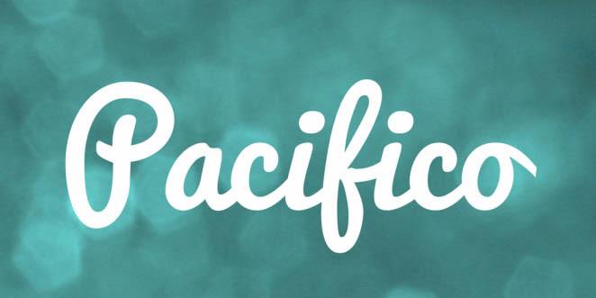 Font Pacifio