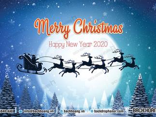 Tổng Hợp Mẫu Backdrop Phông Noel Giáng Sinh Merry Christmas Đẹp Nhất Phần 05