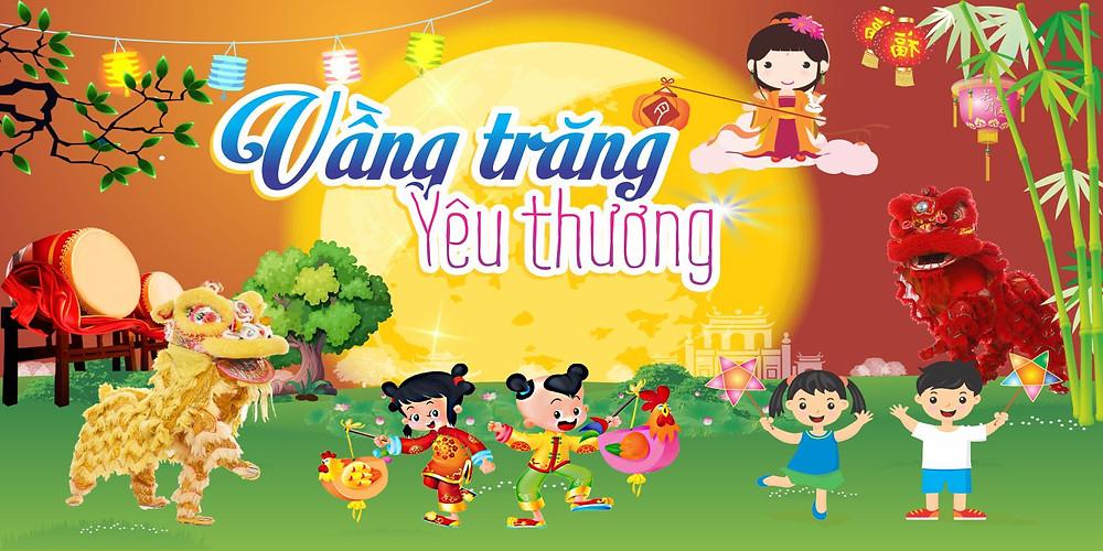 Background Backdrop Trung Thu Vector Corel CDR Part18