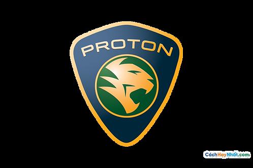 Logo Proton 3D Vector PDF PNG