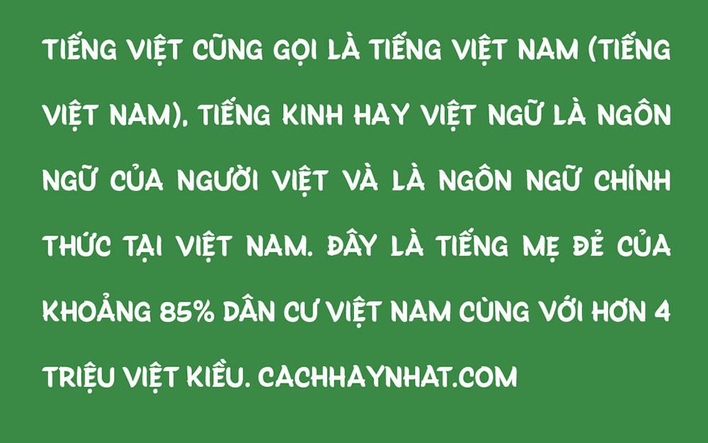 đoạn văn bản font SVN Truffaux Pro Việt hóa
