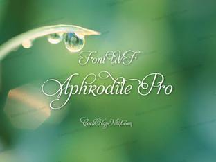 Download Font UVF Aphrodite Pro Việt Hóa