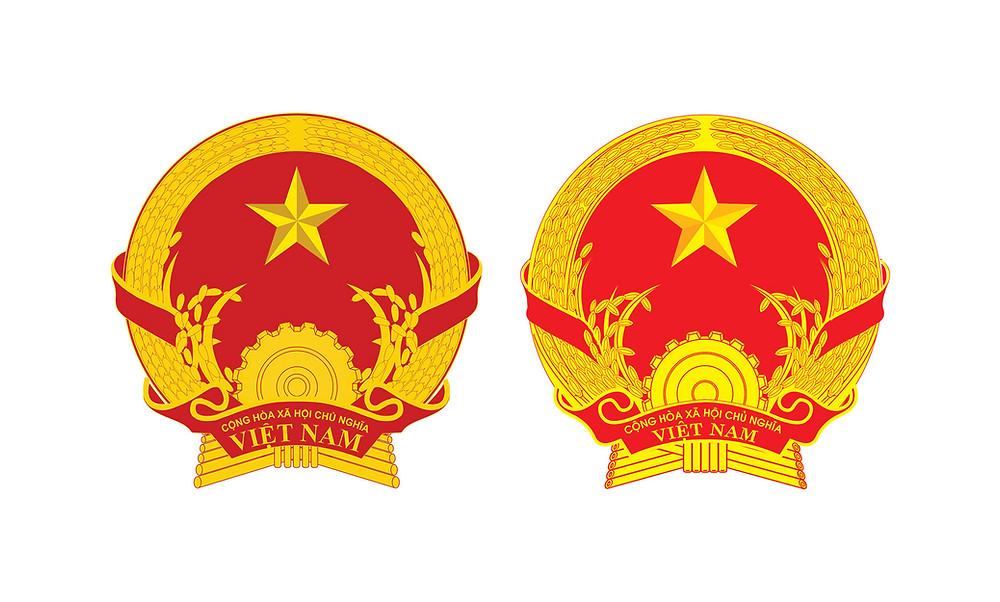 Quốc Huy Việt Nam Chuẩn file vector CDR AI PSD PNG PDF SVG