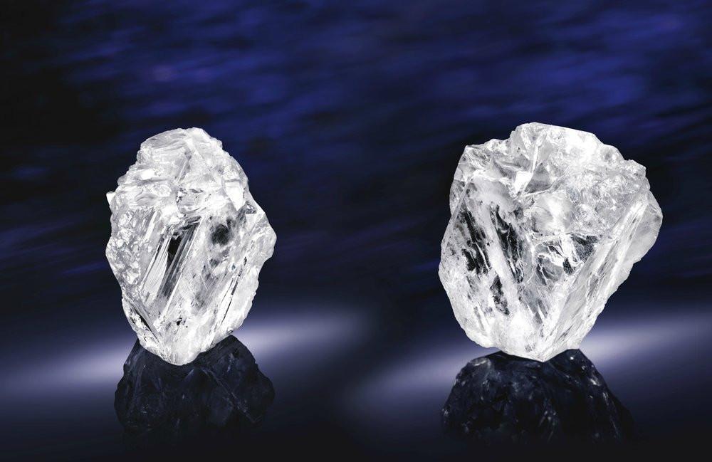 Với trọng lượng 1111 carat, Lesedi La Rona là viên kim cương lớn thứ hai thế giới từng được phát hiện (tính đến năm 2018). Hình ảnh: Lucara Diamonds