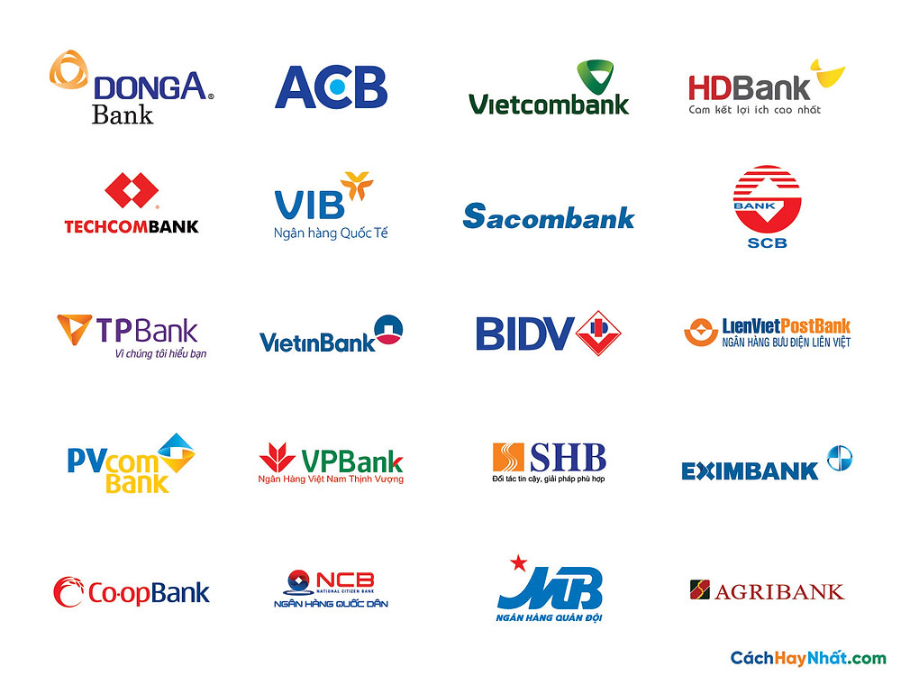 Tổng hợp Logo ngân hàng vector 01