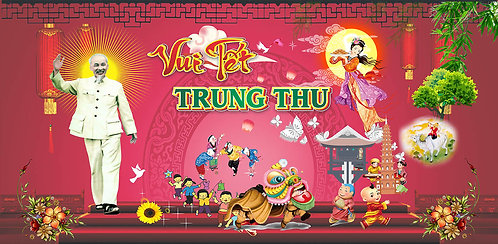 Free Download Background Trung Thu Vector Corel CDR 85
