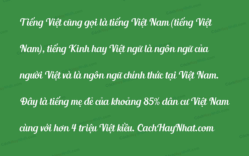 Font UVF Blenda Script Việt hóa.