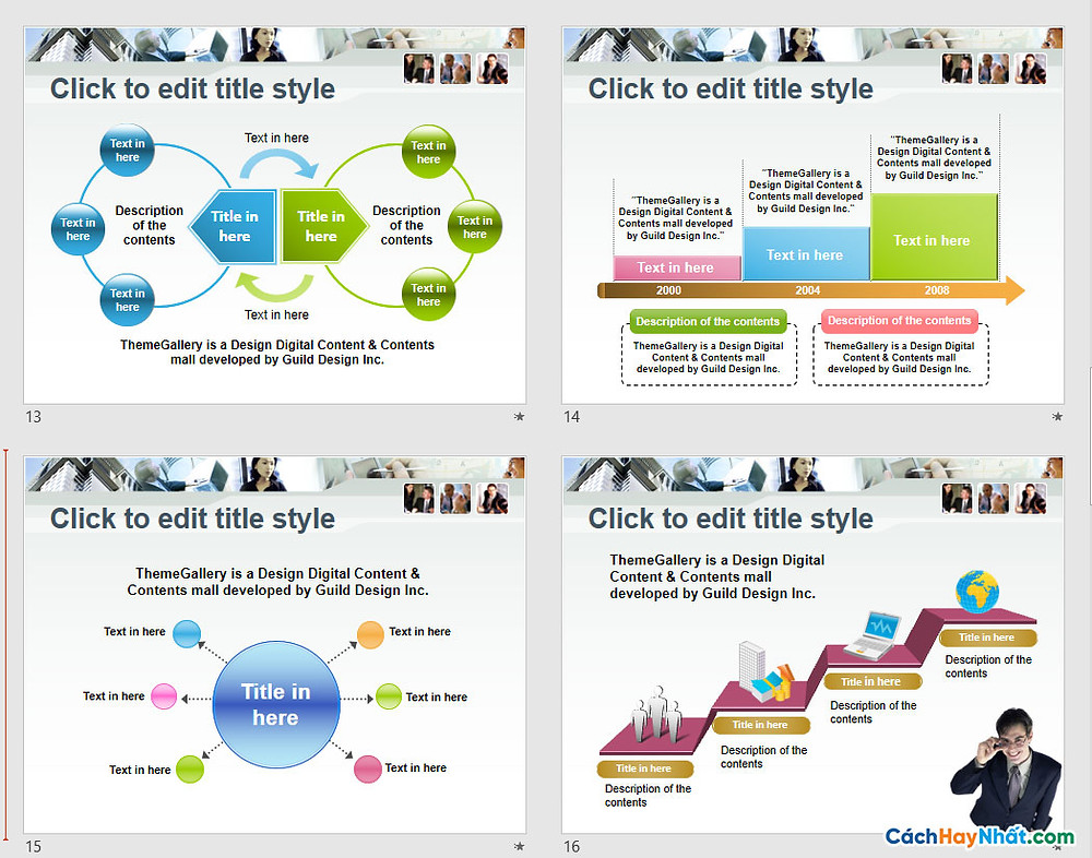 PowerPoint Template 571TGp_business_light_ani