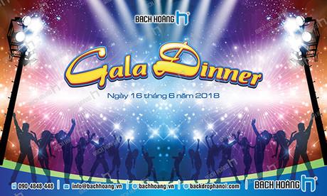 Backdrop Gala Dinner - Team Building