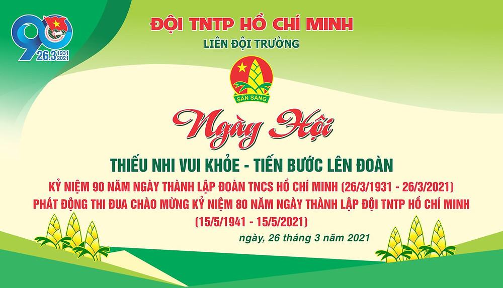 Phông Ngày Hội Đội TNTP Hồ Chí Minh