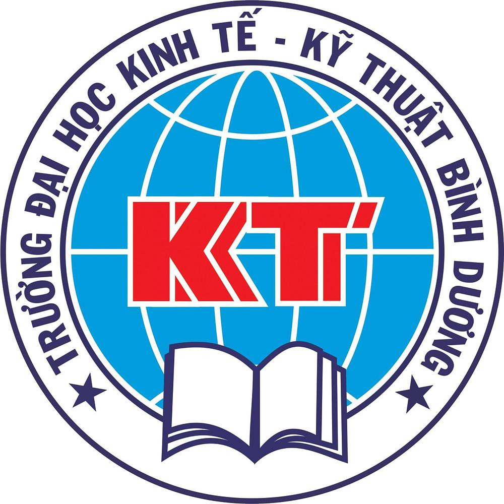 Logo Trường Đại học Kinh tế - Kỹ thuật Bình Dương