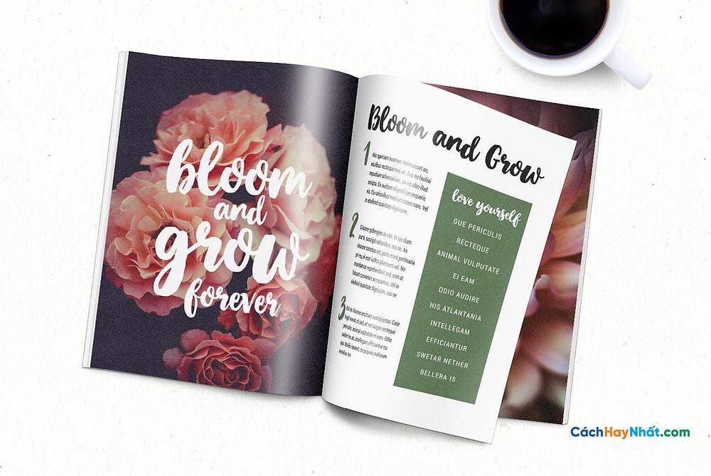 Download Free Font April Blossom Tuyệt Đẹp