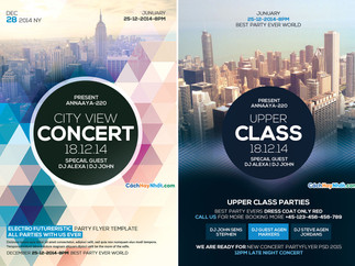 Download File Party Flyers PSD Free 05