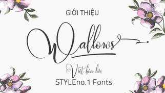Download Font SVN Wallows Việt Hóa - Font Viết Tay - Font Chữ Ký