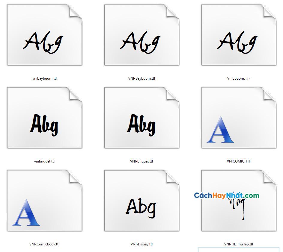 81 Fonts Chữ Thư Pháp Tuyệt Đẹp