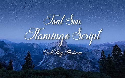 Download Font SVN-Flamingo Script Việt Hóa