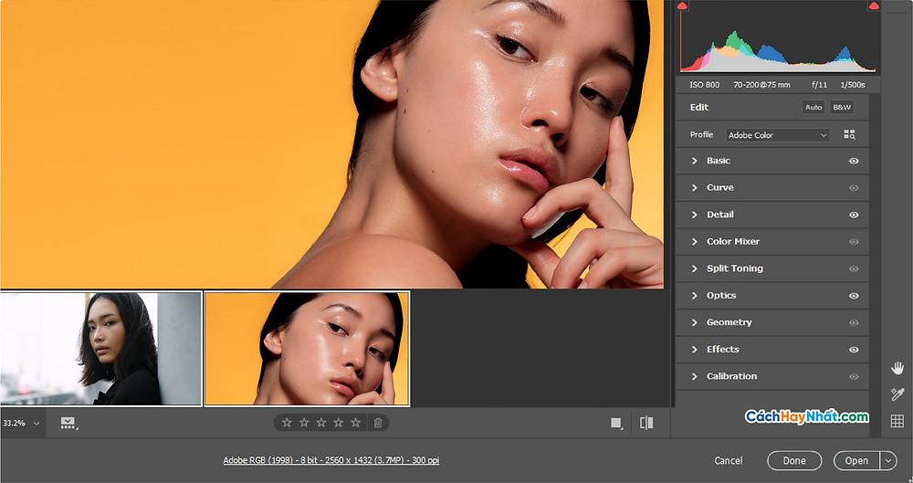 Các tính năng của Adobe Photoshop 2020