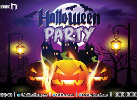 Tổng Hợp Mẫu Backdrop Background Phông Halloween Party Đẹp Nhất Part 01