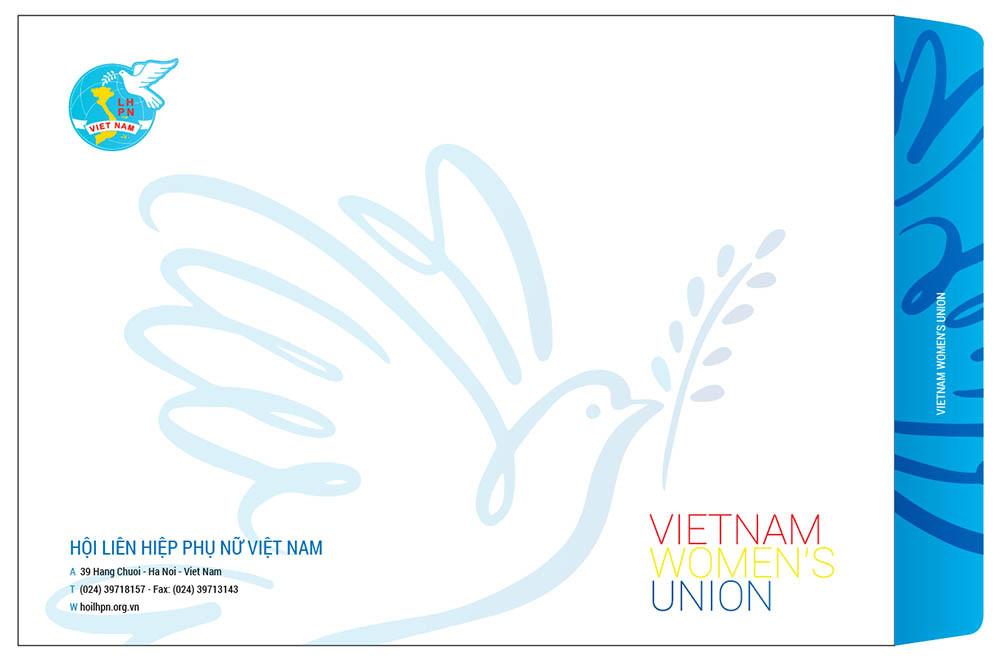 Phong bì bao thư Hội LHPN Việt Nam