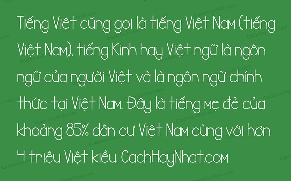 Font SVN Banana Chip Muffins Việt Hóa