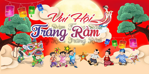 Tết Trung Thu Mid-Autumn Festival Vector Corel CDR 36