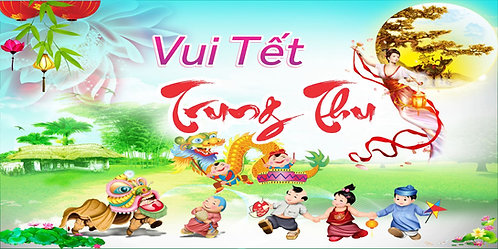 Tết Trung Thu Mid-Autumn Festival Vector Corel CDR 12