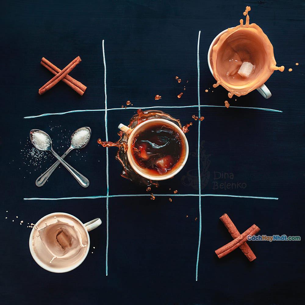 Thực phẩm nghệ thuật quảng cáo ý tưởng chế tác ảnh tic tac by dina