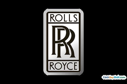 Logo Rolls Royce 3D Vector PDF PNG