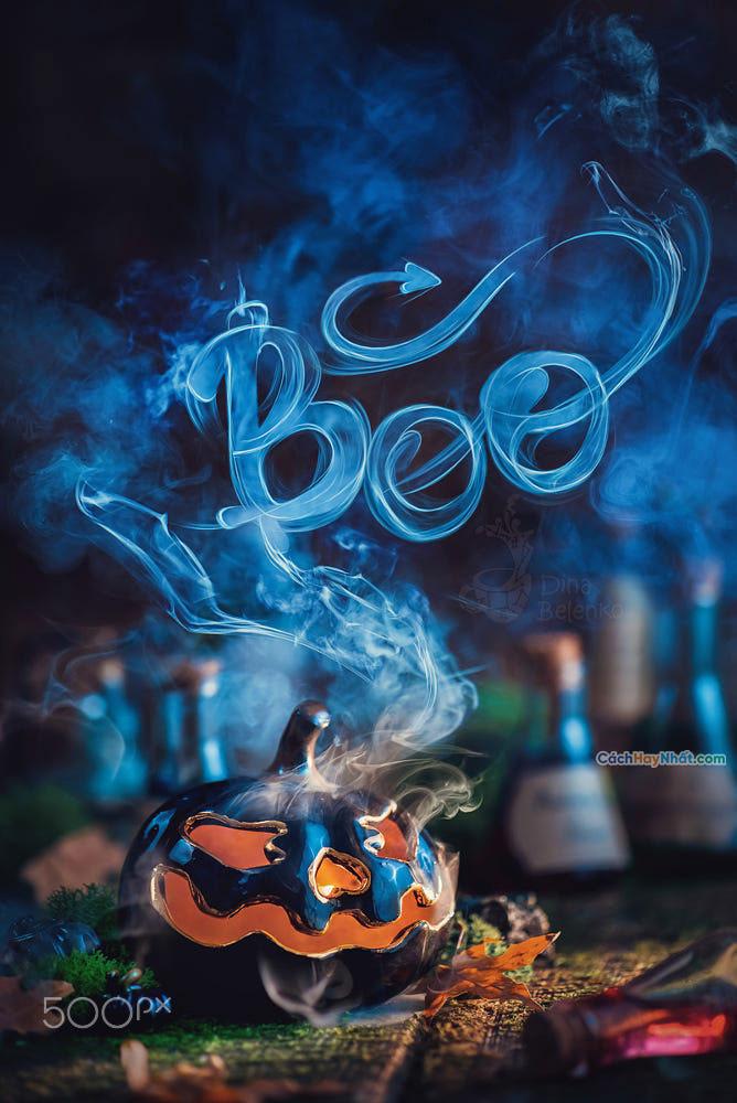 Ý tưởng quảng cáo chế tác ảnh halloween của dina belenko