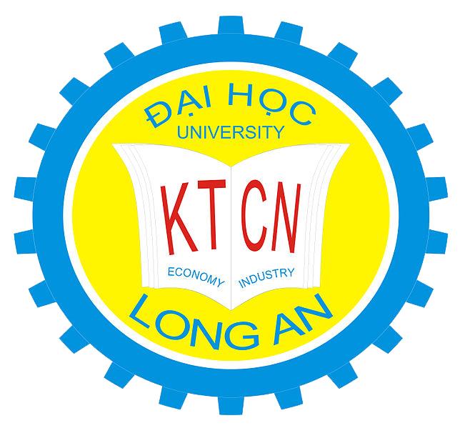 Logo Trường Đại học Kinh tế Công nghiệp Long An