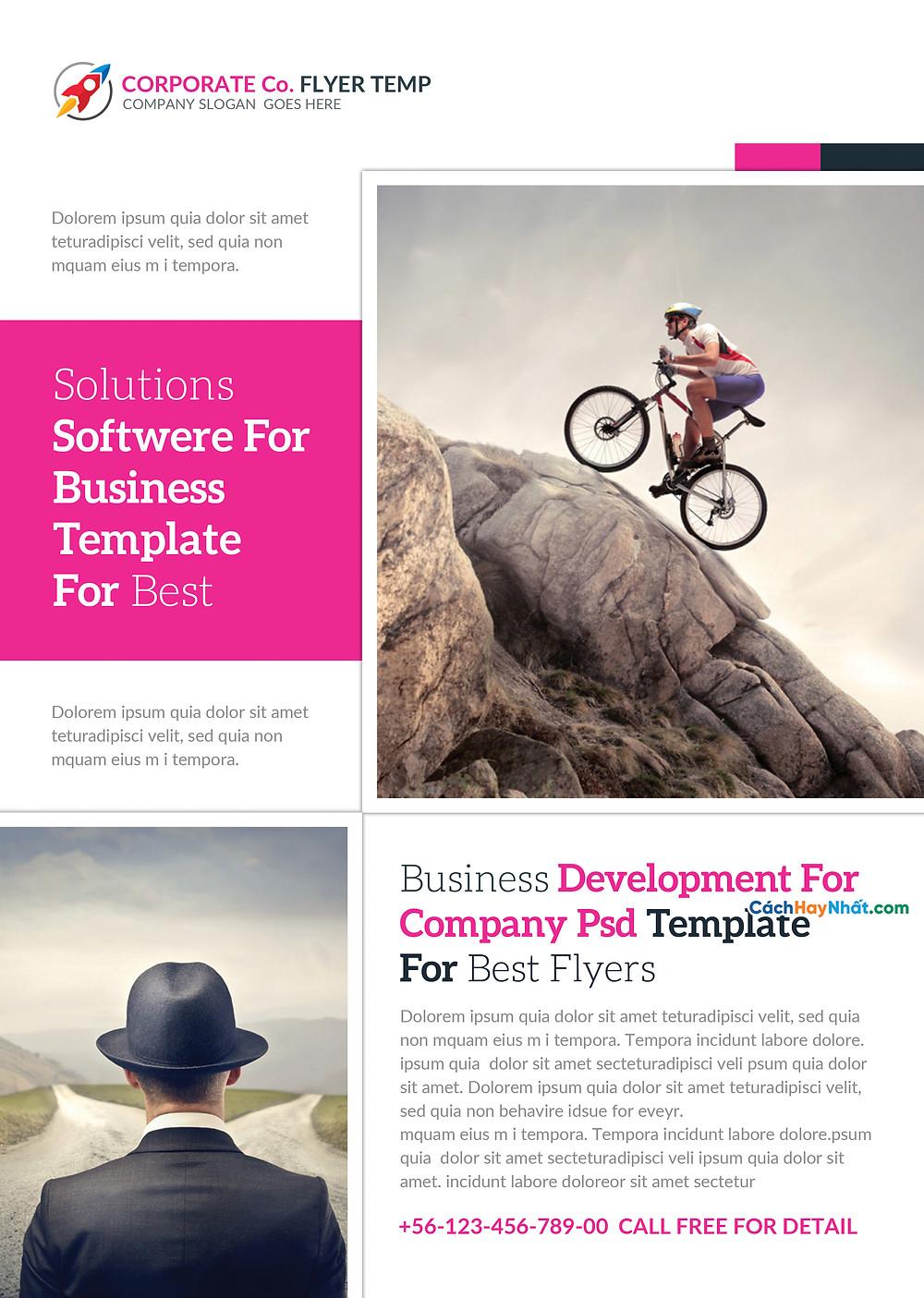 Business Flyers Templates Photoshop