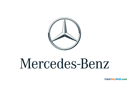 Logo Mercedes-Benz 3D Vector PDF PNG