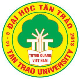 Logo Trường Đại học Tân Trào