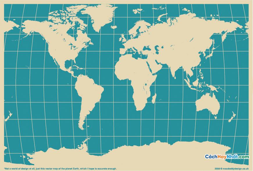 Bản Đồ Thế Giới MACDADDY WORLD