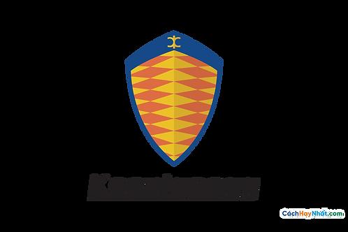 Logo Koenigsegg 3D Vector PDF PNG