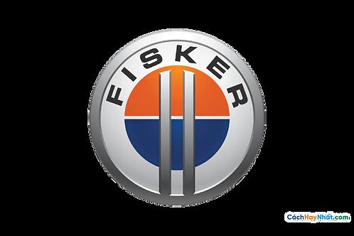 Logo Fisker 3D Vector PDF PNG