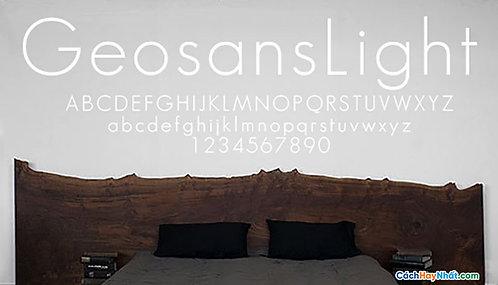 Font Geosanslight download