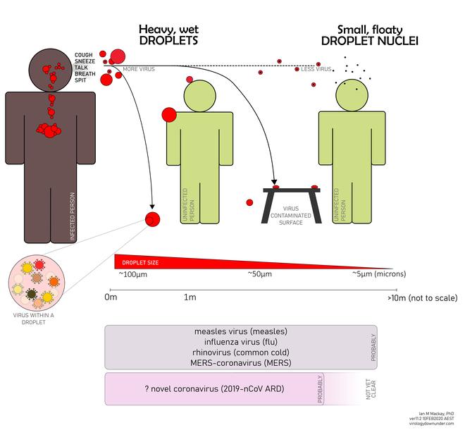 Nếu vô tình đi qua một người nhiễm Covid-19, liệu tôi có bị lây hay không?