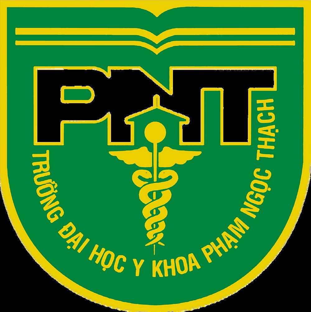 Logo Trường Đại học Y khoa Phạm Ngọc Thạch