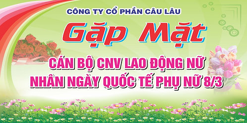 Phông Nền Background Ngày Phụ Nữ Việt Nam 20/10 Vector Corel CDR 13