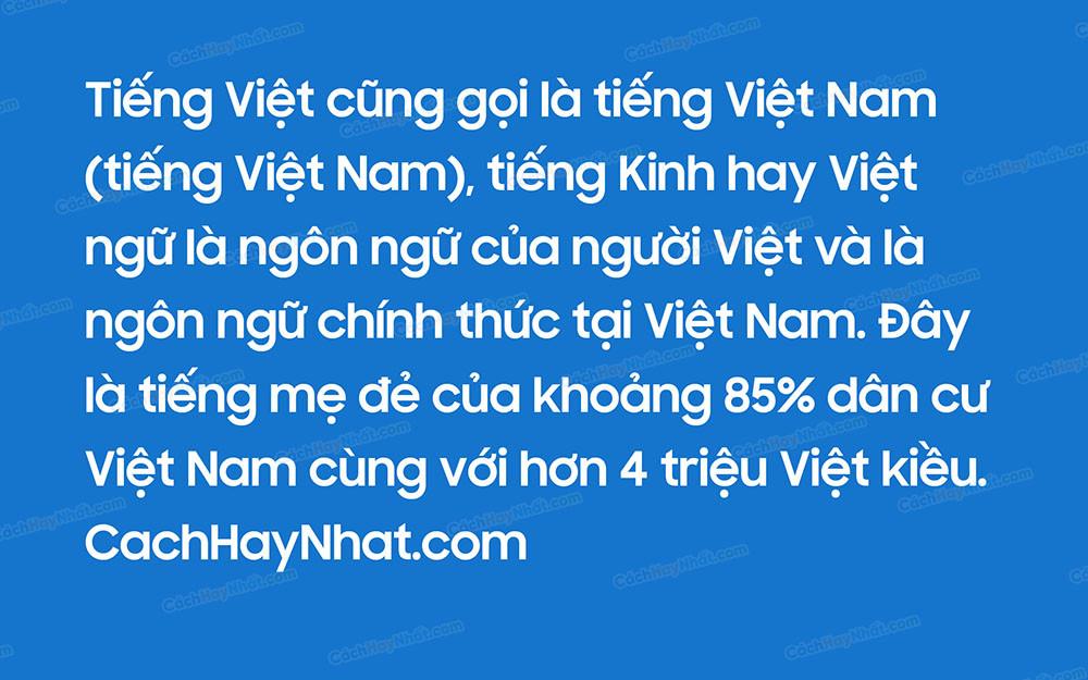 Font Iciel Samsung Sharp Sans Bold Việt Hóa