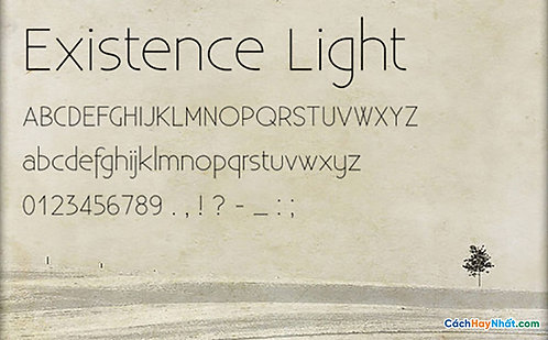 Font Existence Download Free