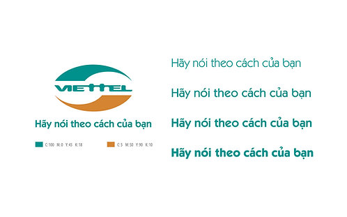 Bộ Font Chữ Logo Viettel VNI-Itckabel Việt Hóa