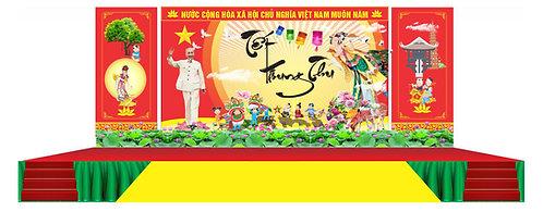 Tải file Background Sân Khấu Trung Thu Vector Corel CDR 97